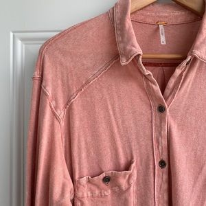 Free People Button-up Tunic